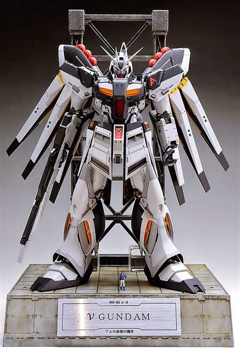 Nu Gundam Ver Ka gundam mg 1 100 hi nu gundam ver ka customized build