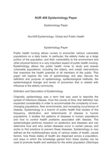 epidemiology research paper epidemiology paper nur 408 kidsa web fc2