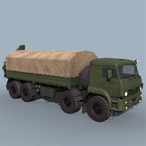 Cargo Army 7 9 3ds cargo trucks russian army cargo trucks