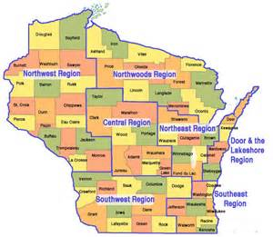 All about wisconsin relax wisconsin map of wisconsin blog