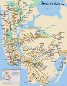 New York Subway Map With Streets by New York City Video Tour N Y C Subway Map All Lines