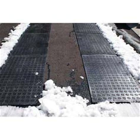Driveway Heater Mat by Mats Runners Heated Snow Melting Hotflake Outdoor