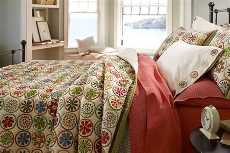 Ll Bean Bedding by L L Bean Blooming Circle Quilt 280 Thread Count Pima