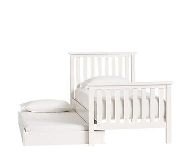 Pottery Barn Trundle Bed Assembly by Elliott Trundle Pottery Barn