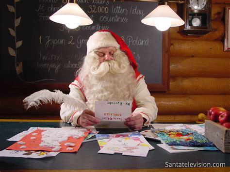 On The Shelf Talking To Santa by Photo Santa Claus Post Office In Rovaniemi In Lapland Finland