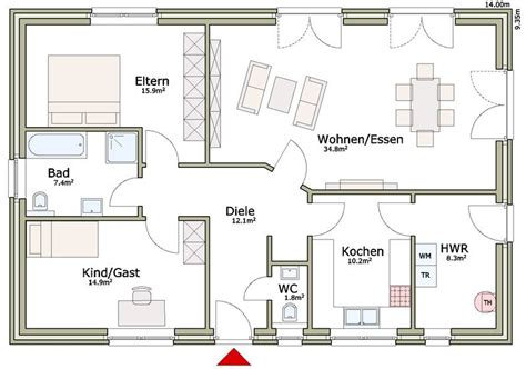 Grundrisse Bungalow 130 Qm by Stadtvilla 130 Qm Emphit