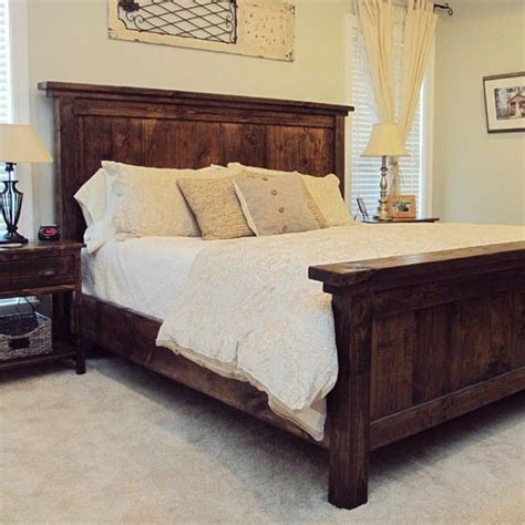 diy headboard and bed frame 1000 ideas about diy bed on pinterest diy bed frame