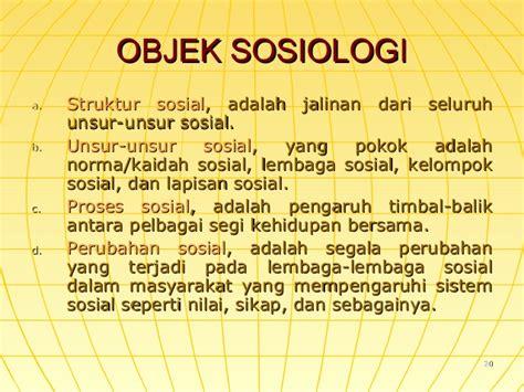 Unsur Unsur Pemikiran Ilmiah Dalam Ilmu Ilmu Sosial temu ii iii sosiologi sebagai ilmu pengetahuan