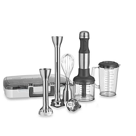 bed bath and beyond mixers kitchenaid 174 5 speed stainless steel hand blender bed
