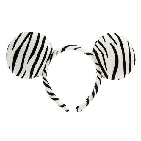 printable zebra ears disney parks animal print zebra mickey ear headband new