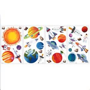 Space Wall Stickers Outer Space Wall Stickers