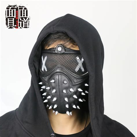 dogs 2 wrench mask dogs 2 wrench mask half muffle props cospaly ebay