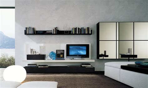 modern wall units for living room modern wall units