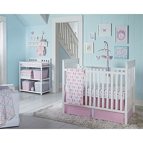 Wendy Bellissimo Mix And Match Pink Bedding Separates Crib Bedding Separates