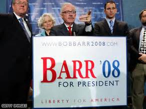 former congressman bob barr defeated in gop house will libertarian bob barr take conservative votes from