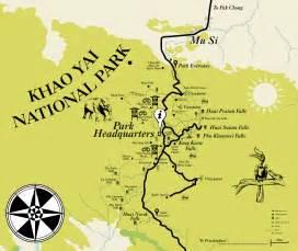 Car Rental From Bangkok To Khao Yai Khao Yai National Park Map Khao Yai Travel Guide