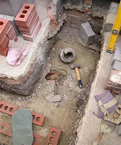 self build house extension drains planning self build house extension groundwork bricks