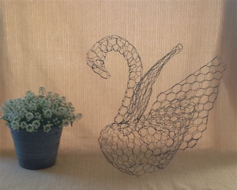 how to make your own topiary frames small swan topiary frame