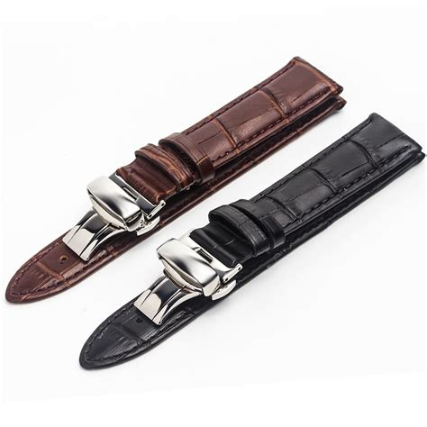 High Quality Leather Snks 18mm 20mm 22mm Tali Jam Kulit Asli rops high quality leather for tissot omega iwc 18mm 20mm 22mm accessories