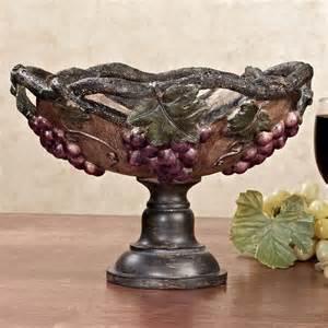 bowls for centerpieces grape harvest decorative centerpiece bowl