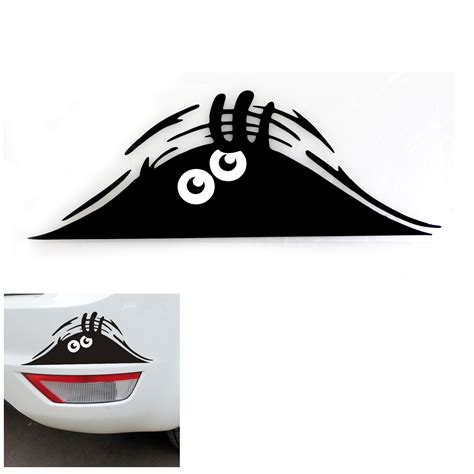 Decal Aufkleber peeking auto car walls windows sticker