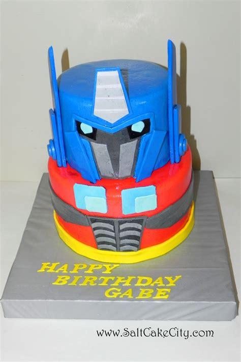 Optimus Prime Cakes De Ion  Ee  Ideas Ee   Little  Ee  Birthday Ee   Cakes