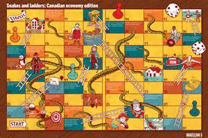 snakes and ladders canadian economy edition macleans ca
