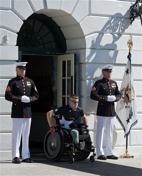 white house marines wounded lcpl marine guard a marine corps lance