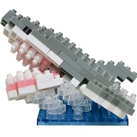 Nanoblock Great White Shark great white shark splash levida toys