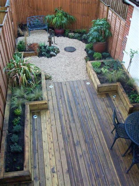 narrow backyard ideas best 25 narrow backyard ideas ideas on deck