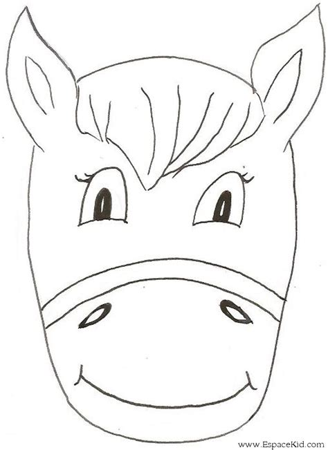 printable animal masks donkey donkey mask carnival pinterest donkey mask and craft