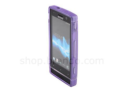 Tpu Sony Xperia U St25i Grey sony xperia u st25i wave plastic back