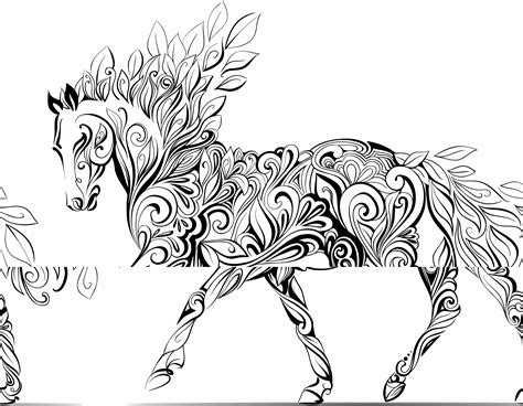 coloring pages of horses for adults coloring pages children a to color wallpapers