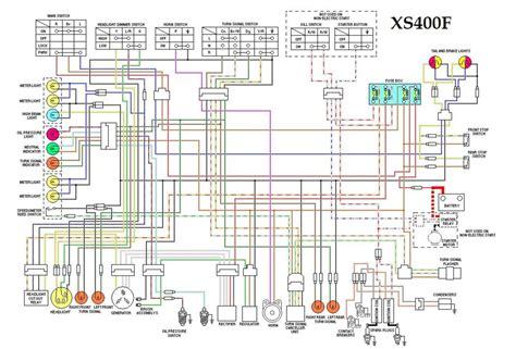 yamaha xj wiring diagram wiring diagrams