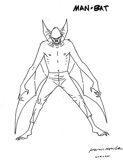 batman man coloring pages kevin nowlan may 2010