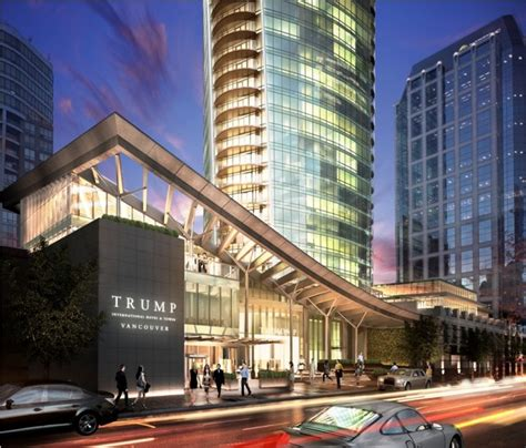 3 3 million vancouver trump tower condo possibly has the trump tower vancouver revealed