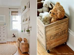Light and airy nursery design with vintage details kidsomania