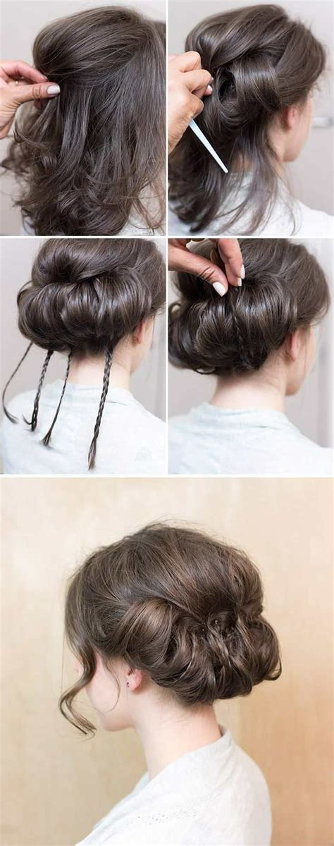 tuck in hairstyles best 25 gibson tuck ideas only on pinterest headband