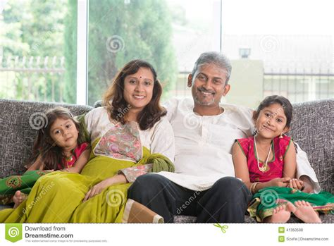 indian family stock photo image 41350598