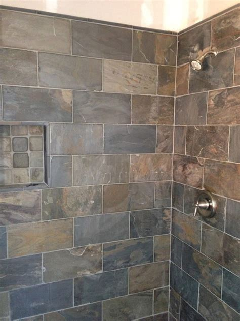 slate bathroom shower slate frameless shower