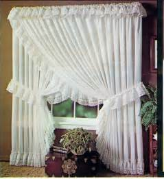 Drapes With Attached Valance Criss Cross Curtains Furniture Ideas Deltaangelgroup