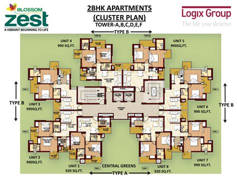 blossom zest sector 143 noida studio and 2bhk apartments