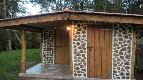 cordwood cabin construction cordwood construction plans our cordwood sauna construction youtube