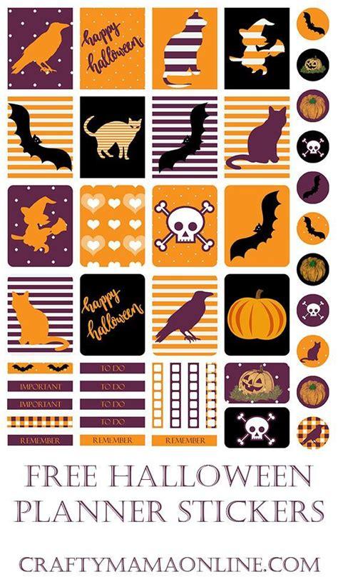 free printable halloween planner stickers 142 best free planner printables images on pinterest