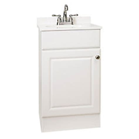 glacier bay 18 inch w easy vanity combo with cultured
