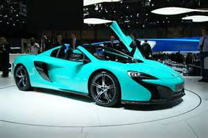 Lights Car On Spider Mclaren 650s Spider Colored Cars