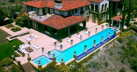 Club Floor Plan heidi klum villa in kalifornien ein traumhaftes luxushaus