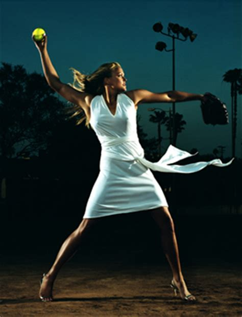 top sport players pictures jennie finch softball