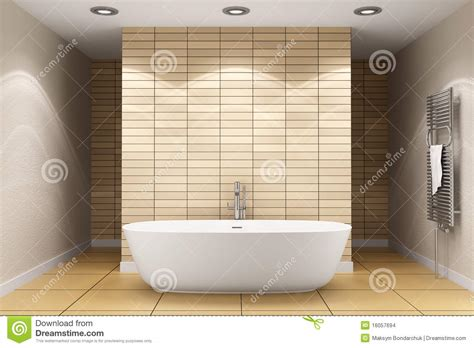 badezimmer t wand grundriss modern bathroom with beige tiles on wall stock photo