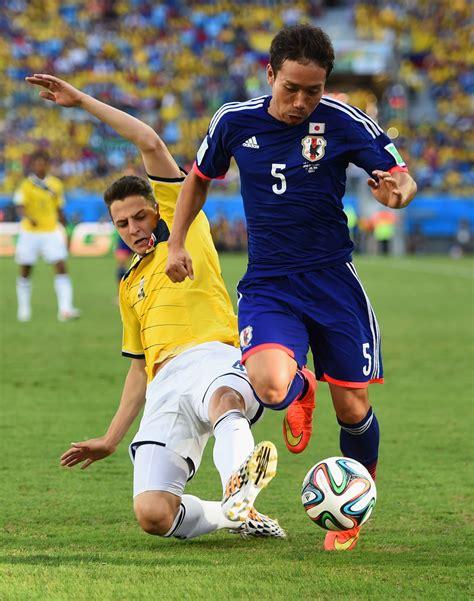 japan colombia world cup yuto nagatomo photos photos japan v colombia c